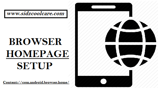Content://com.android.browser.home/ – Browser Homepage Setup