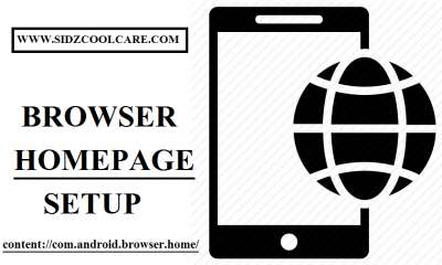 Browser Homepage Setup- Content://com.android.browser.home/