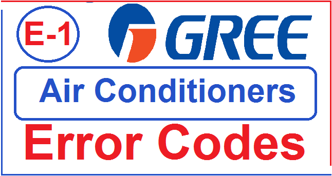 Gree Air Conditioners E1 Error Code Troubleshooting |