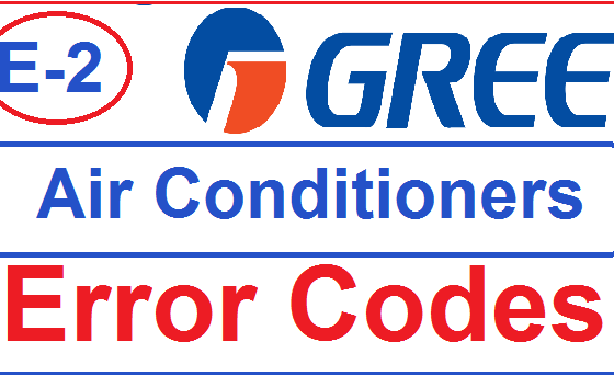 Gree Air Conditioners Error Code E2 Troubleshooting |
