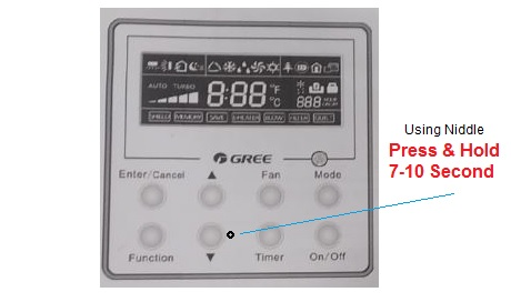 How to Reset Gree Air Conditioner