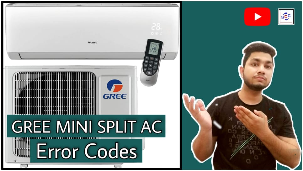 GREE Mini Split Air Conditioners Error Codes List | 2021